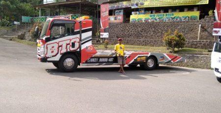 Jasa Towing atau Truk Derek untuk Motor dari Yogyakarta ke Banjarnegara